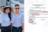 Chính quyền địa phương lên tiếng về những 'điểm bất thường' trong loạt giấy tờ của vợ chồng Thuỷ Tiên, Công Vinh