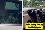 Tranh cãi thái độ của vợ Lương Xuân Trường khi lái ô tô đưa chồng lên tuyển: Lạnh lùng, không nhìn lấy một lần?-6