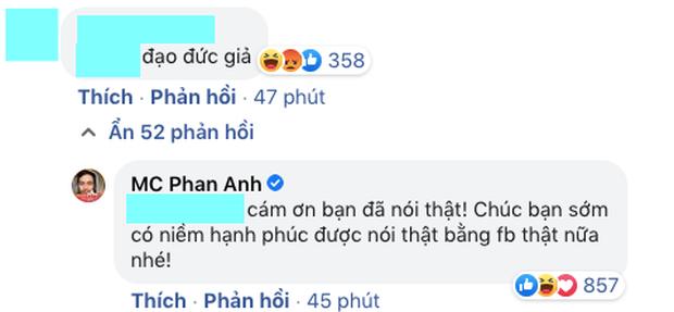 MC Phan Anh đối 1:1 với loạt antifan đề cập đến chuyện từ thiện, phản ứng thế nào về lùm xùm tương tự của Thuỷ Tiên?-2