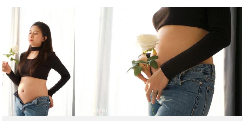 Mẹ bầu xinh như hot girl nhưng vẫn lo cơ thể xuống cấp, gom tiền để trùng tu nhan sắc sau sinh-2