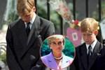 Anh em Hoàng tử William không được phép khóc và những chi tiết đau lòng ít ai biết tại tang lễ Công nương Diana 24 năm về trước