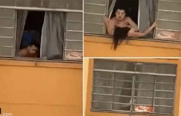 Bị chồng tra tấn đánh đập, vợ bầu 2 tháng liều mạng chạy ra cửa sổ định nhảy xuống, những gì xảy ra tiếp theo gây phẫn nộ-2