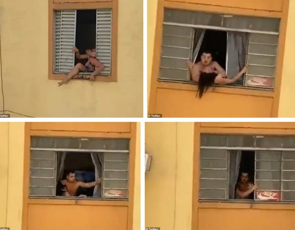 Bị chồng tra tấn đánh đập, vợ bầu 2 tháng liều mạng chạy ra cửa sổ định nhảy xuống, những gì xảy ra tiếp theo gây phẫn nộ-3