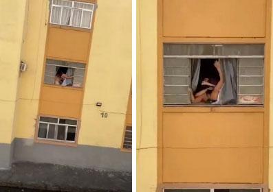 Rùng mình khoảnh khắc thai phụ giãy giụa tìm cách nhảy khỏi cửa sổ và nguyên nhân chua chát phía sau-1