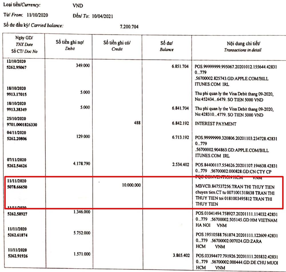 Tài khoản đi chợ của Thủy Tiên lộ giao dịch lạ, từng nhận được tiền tỷ ủng hộ từ thiện-2