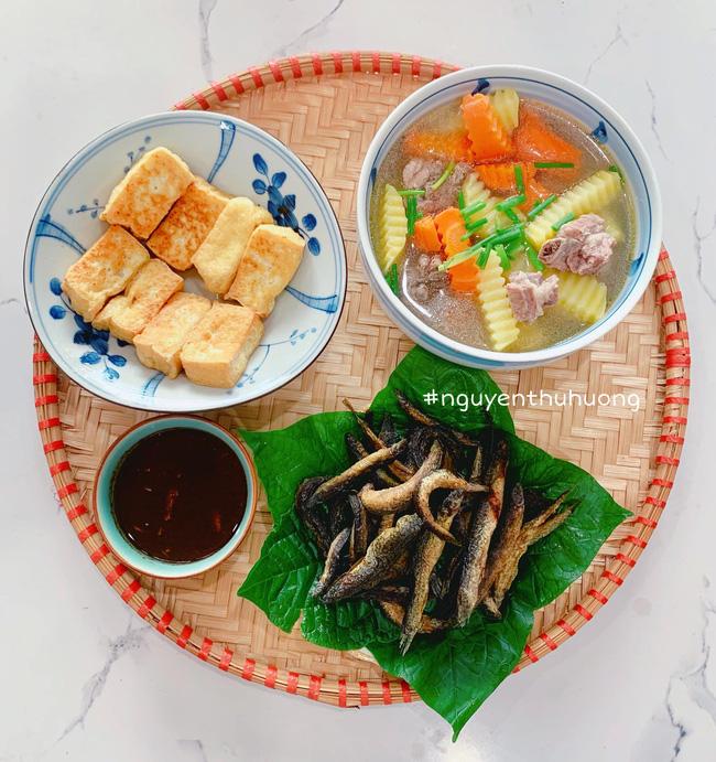 Khoe loạt mâm cơm ngon-bổ-rẻ trong những ngày giãn cách, mẹ đảm Hà Nội giúp chị em giải quyết bài toán hôm nay ăn gì?-17