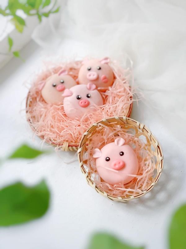 Hội chị em sángtạo đủ loại bánh Trung thuphi truyền thống đẹp xuất sắc, chỉ muốn ngắm chẳng nỡ ăn-2