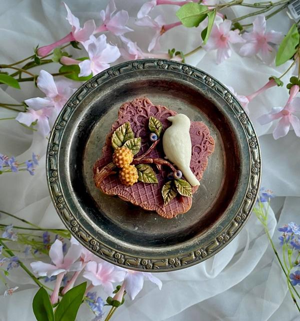 Hội chị em sángtạo đủ loại bánh Trung thuphi truyền thống đẹp xuất sắc, chỉ muốn ngắm chẳng nỡ ăn-12
