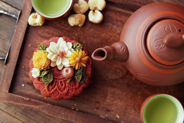 Hội chị em sángtạo đủ loại bánh Trung thuphi truyền thống đẹp xuất sắc, chỉ muốn ngắm chẳng nỡ ăn-11