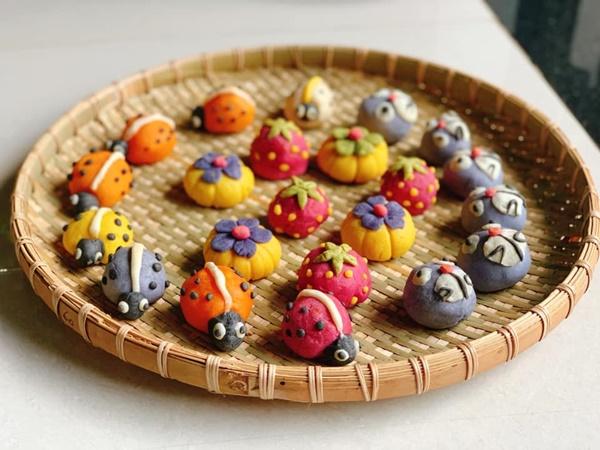 Hội chị em sángtạo đủ loại bánh Trung thuphi truyền thống đẹp xuất sắc, chỉ muốn ngắm chẳng nỡ ăn-6