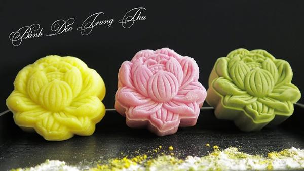 Hội chị em sángtạo đủ loại bánh Trung thuphi truyền thống đẹp xuất sắc, chỉ muốn ngắm chẳng nỡ ăn-8