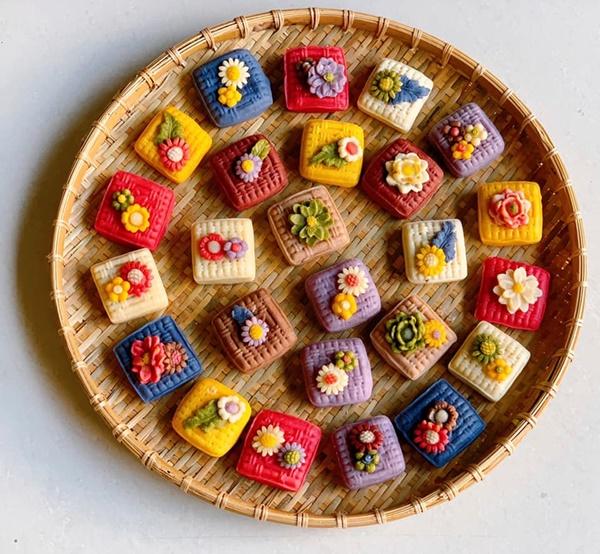 Hội chị em sángtạo đủ loại bánh Trung thuphi truyền thống đẹp xuất sắc, chỉ muốn ngắm chẳng nỡ ăn-14