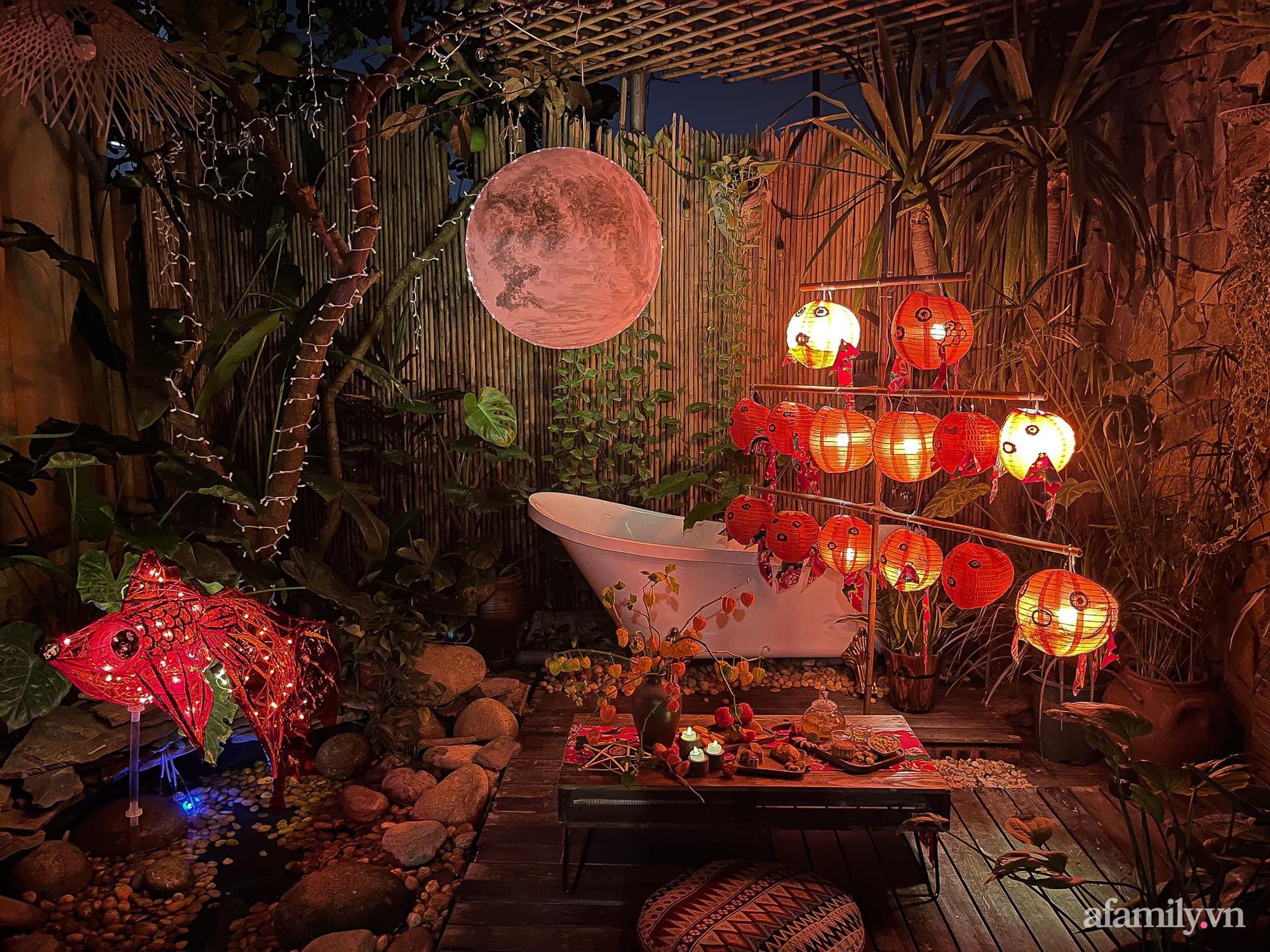 Phòng ngủ lung linh rực rỡ sắc màu Trung thu nhờ bàn tay khéo decor của cô gái Hà Nội-2