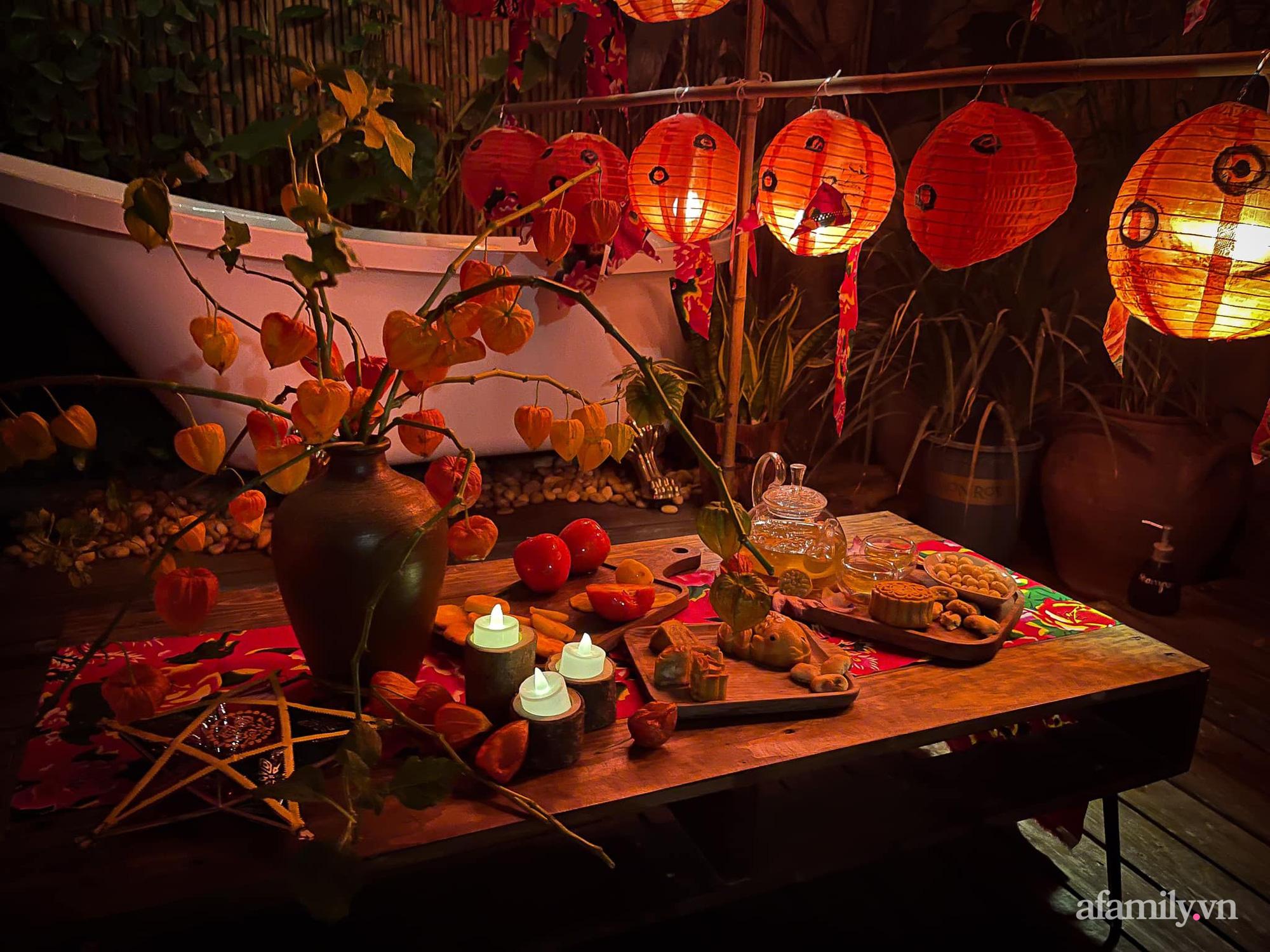 Phòng ngủ lung linh rực rỡ sắc màu Trung thu nhờ bàn tay khéo decor của cô gái Hà Nội-3
