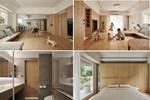 Không gian đồng điệu của căn nhà toàn gỗ, cho gia chủ cuộc sống thật thoải mái và vui vẻ, mỗi khoảnh khắc đều vô cùng tuyệt vời