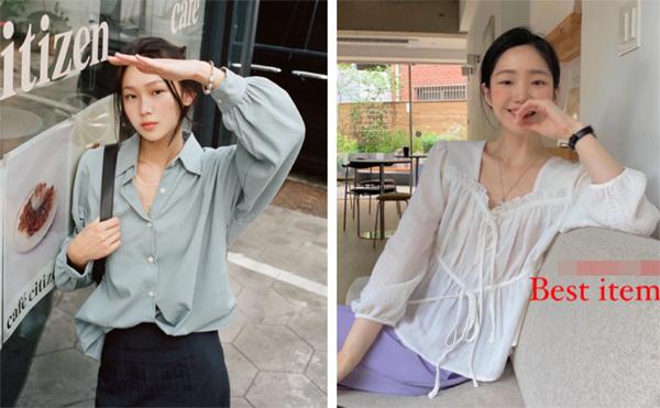 Mẫu áo mùa thu đang phủ sóng khắp mạng xã hội, chị em không sắm thì thiệt bao set đồ sang chảnh ngút ngàn-3