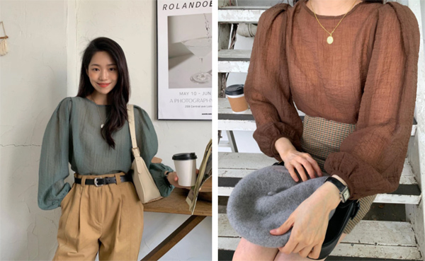 Mẫu áo mùa thu đang phủ sóng khắp mạng xã hội, chị em không sắm thì thiệt bao set đồ sang chảnh ngút ngàn-7