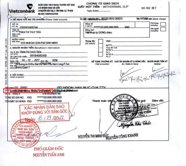 Thủy Tiên tiếp tục bị soi chi tiết rút tiền liên tiếp trong sao kê giao dịch tài khoản từ thiện-2