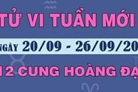 Tử vi tuần mới 20-26/9/2021 của 12 cung Hoàng đạo: Song Tử êm đềm, Sư Tử trì trệ, Xử Nữ nhàn nhã