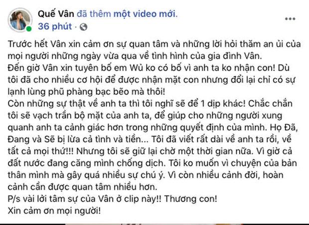 Sau 5 năm Quế Vân nhắc lại drama tình ái với Trường Giang, kèm cả tin nhắn em tốt quá, đừng bỏ rơi anh-5