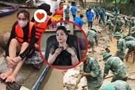 Trước vấn đề 'không có nghệ sĩ không ai làm từ thiện', bà Phương Hằng đanh thép: 'Bao thập niên nay ai làm? Bộ đội, công an và bao người xả thân vì miền Trung'