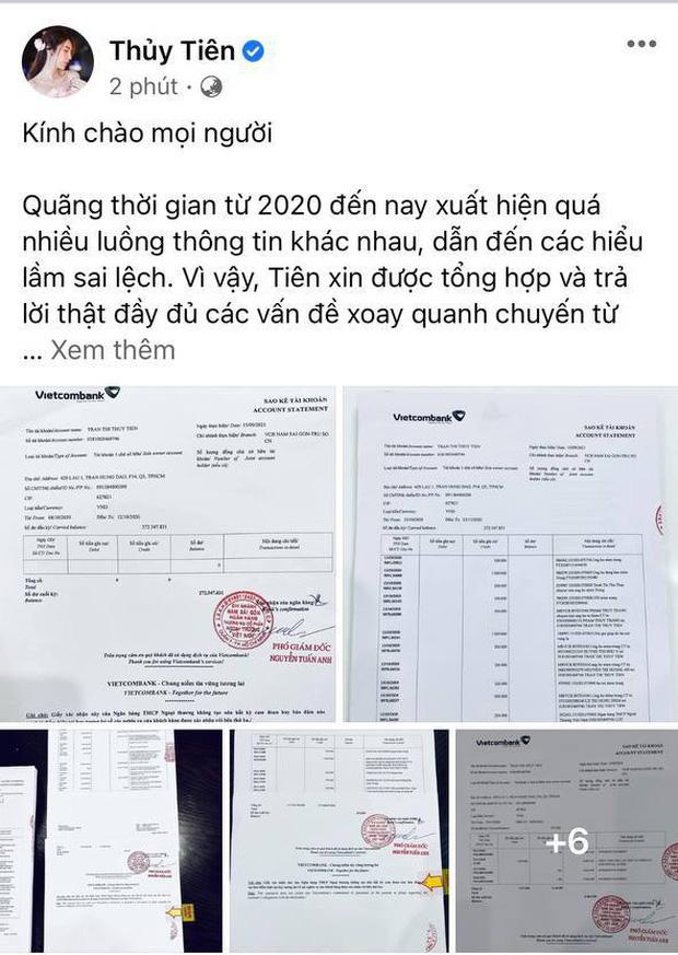 Netizen lan truyền clip Thuỷ Tiên thừa nhận khóc lóc, đóng kịch để không bị đòi tiền, thực hư ra sao?-2