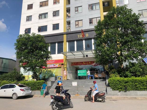 Hà Nội: Người phụ nữ ở nhà 2 tháng dương tính không rõ nguồn lây, phong toả chung cư 1.200 dân-2