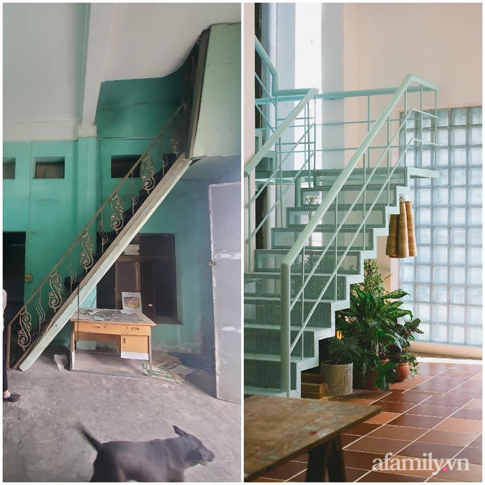 Nhà phố 60m² cải tạo đẹp ấn tượng của vợ chồng giáo viên mỹ thuật ở Hải Phòng-4