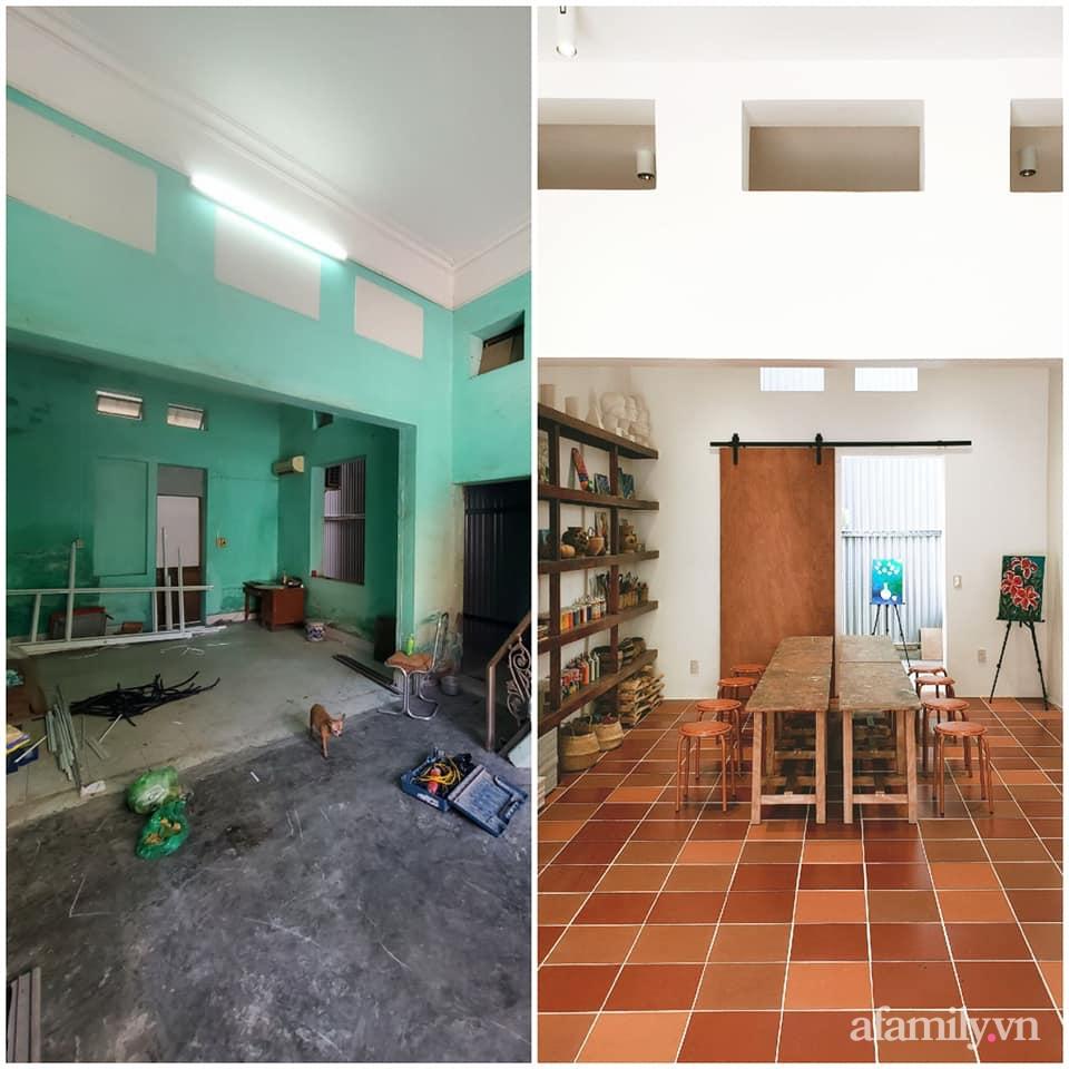 Nhà phố 60m² cải tạo đẹp ấn tượng của vợ chồng giáo viên mỹ thuật ở Hải Phòng-5