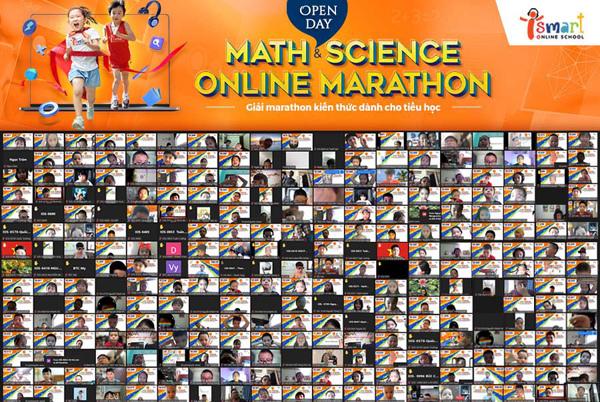 'Marathon tiếng Anh' qua môn Toán và Khoa học, trải nghiệm khác biệt-1