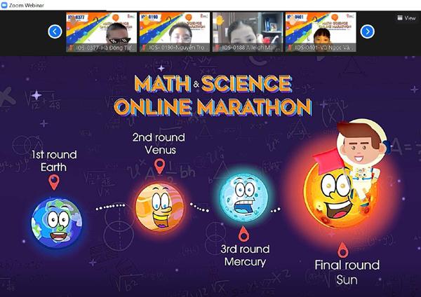 'Marathon tiếng Anh' qua môn Toán và Khoa học, trải nghiệm khác biệt-3