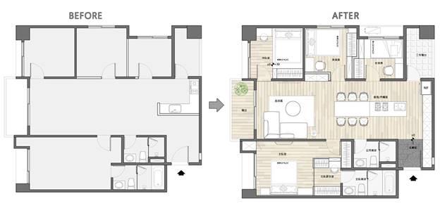Cuộc sống hạnh phúc của gia đình 5 người trong căn hộ nhỏ, diện tích hạn chế nhưng không gian sống vẫn thoải mái và tiện nghi-4