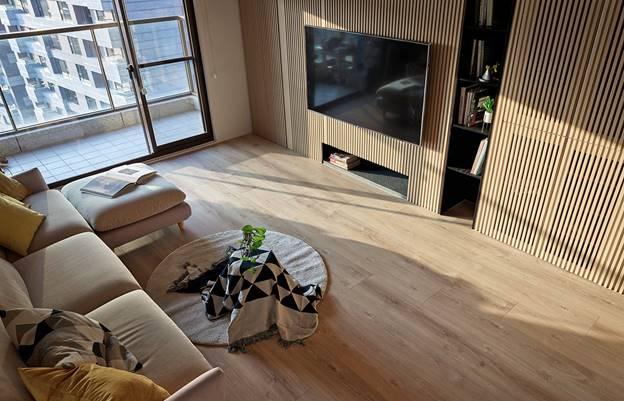 Cuộc sống hạnh phúc của gia đình 5 người trong căn hộ nhỏ, diện tích hạn chế nhưng không gian sống vẫn thoải mái và tiện nghi-5