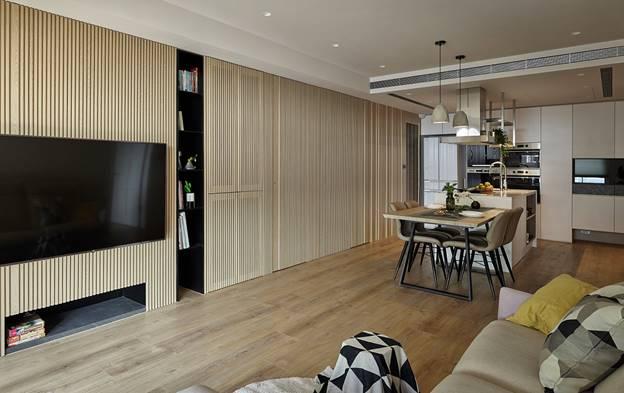 Cuộc sống hạnh phúc của gia đình 5 người trong căn hộ nhỏ, diện tích hạn chế nhưng không gian sống vẫn thoải mái và tiện nghi-6