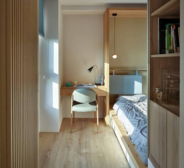 Cuộc sống hạnh phúc của gia đình 5 người trong căn hộ nhỏ, diện tích hạn chế nhưng không gian sống vẫn thoải mái và tiện nghi-10