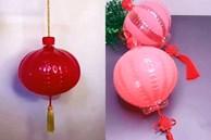 Hướng dẫn mẹ và bé cách làm đèn lồng chơi trăng đơn giản nhất, nhìn như hàng xịn, nguyên liệu sẵn có trong nhà, chi phí chưa bằng cốc chè bưởi