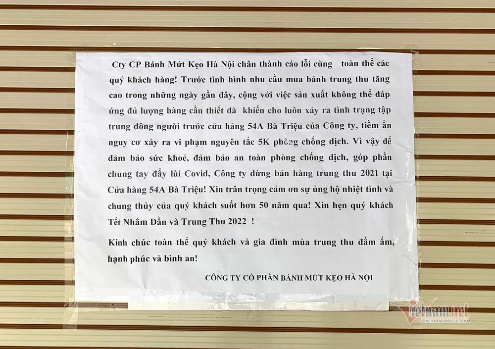 Bất ngờ ở Hà thành: Bánh Trung thu khan hiếm, chưa dọn cỗ đã hết sạch-5