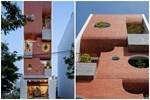 Căn nhà 4 tỷ nổi bần bật với mặt tiền đỏ, bước vào trong còn choáng ngợp hơn với thiết kế mê cung