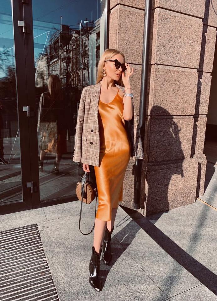 Slip dress + blazer: Cặp đôi trái dấu giúp nàng 30+ đẹp xuất sắc trong ngày trở lại sở làm-4