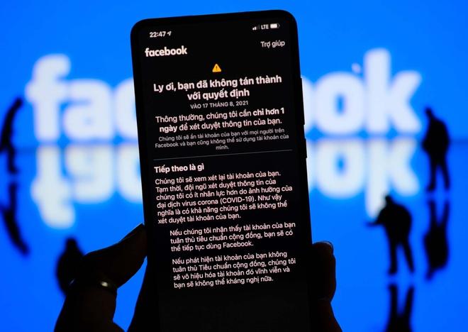 Nhiều tài khoản Facebook ở Việt Nam bị khóa vĩnh viễn-2
