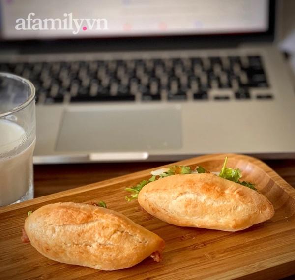 Cách làm bánh mì chuột vỏ mỏng giòn bằng nồi chiên không dầu, ăn đến đâu mê mẩn đến đấy!-8