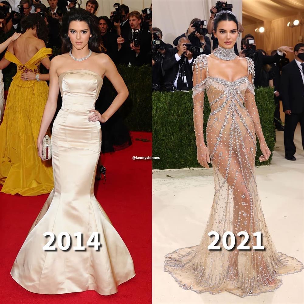 Trước bộ đồ mỏng như cánh ve khoe trọn body, chẳng ngờ Kendall Jenner từng có quá khứ kín đáo nhường này tại Met Gala-1