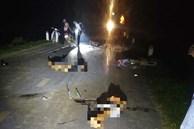Tai nạn thảm khốc đêm Trung thu: 4 xe máy đấu đầu, 7 thiếu niên thương vong