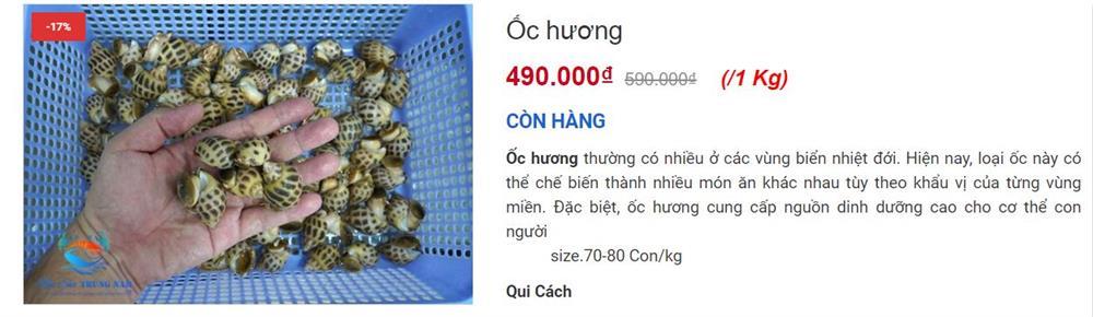 Hội ghiền ăn ốc hương đừng bỏ qua lúc này, sàn thương mại bán siêu rẻ chỉ 115 nghìn/kg-6