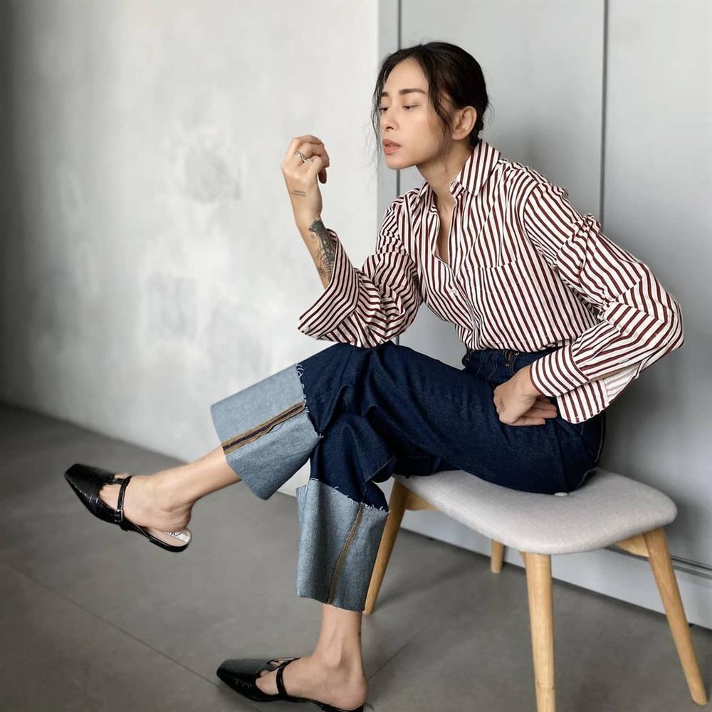 4 kiểu giày bệt được sao Việt U40 sắm nhiều nhất để hack tuổi, và mặc gì trông cũng sành điệu hơn-10