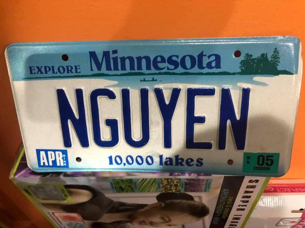 Khóc dở cười dở trước 1001 cách đặt biển số xe của người Việt tại Mỹ - Có người rất yêu trái mướp đắng?-6