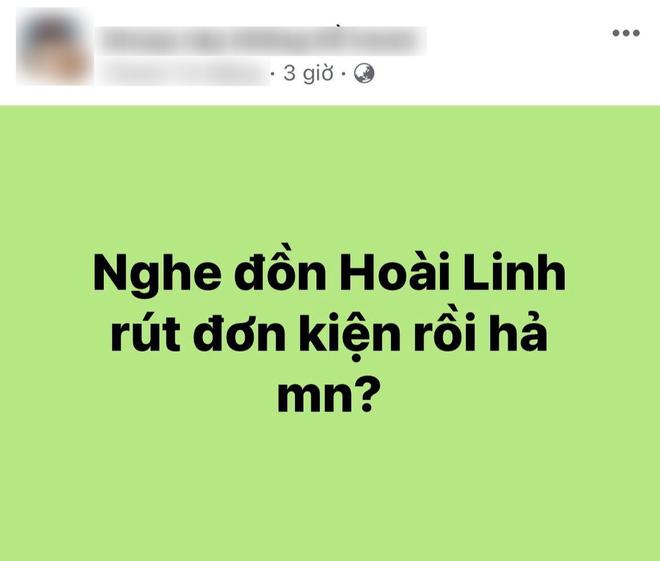 MXH rầm rộ tin NS Hoài Linh đã rút đơn kiện nữ CEO Đại Nam, chuyện gì đây?-1