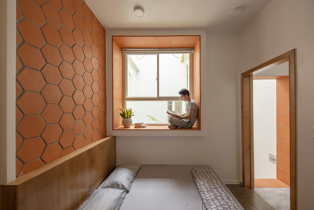 Nhà mái đôi Sài Gòn xinh ngất ngây với thiết kế lõi xanh, chỉ ngắm cũng thấy ngập tràn năng lượng tích cực-14