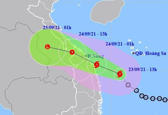 NÓNG: Áp thấp nhiệt đới gần bờ mạnh lên thành bão số 6 giật cấp 10, ảnh hưởng đất liền từ tối nay-1