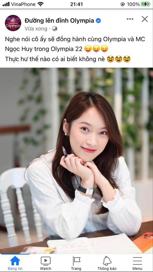 Khánh Vy trở thành MC chính thức của Đường Lên Đỉnh Olympia?-1